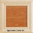 Betétes 100x50-es duplafiókos íróasztal