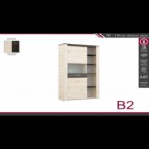 B2 110-es vitrines elem
