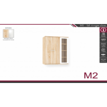 M-2 fali üveges elem