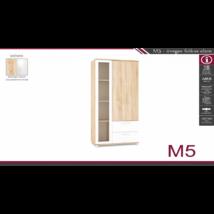 M-5 üveges fiókos elem