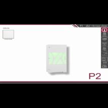 P2 alsó vitrines elem