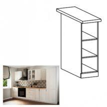 SICILIA D20P alsó nyitott konyha szekrény