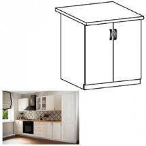 SICILIA D80 konyhai alsó szekrény