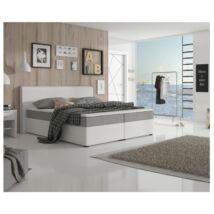 NOVARA MEGAKOMFORT Kényelmes francia ágy szövet inari 91 /     ekobőrrel