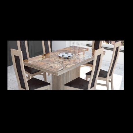 Flóra asztal plusz 160 x 88 cm