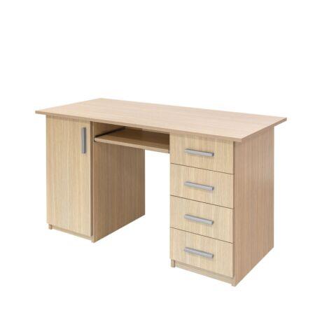 130 x 60 cm-es számítógépasztal