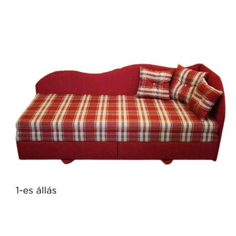 DÉZI saroktámlás kanapé rugós