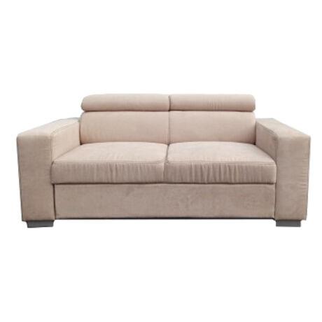 Monaco 2 személyes fejtámlás kanapé rugós
