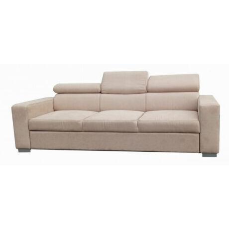 Monaco 3 személyes fejtámlás kanapé rugós