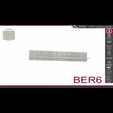 BER6 CD-s polcos elem
