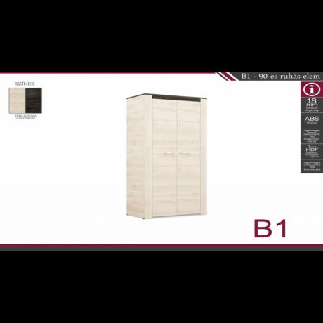 B1 90-es ruhás elem
