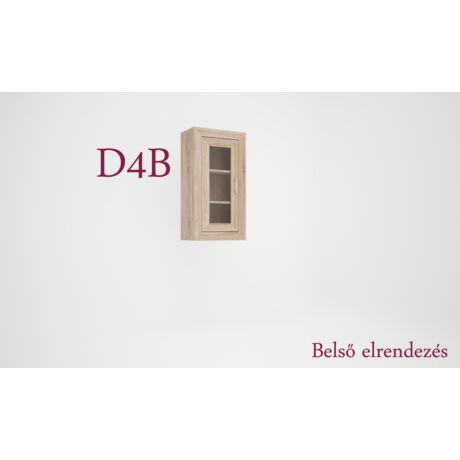 Dany D4 vitrines elem (bal)