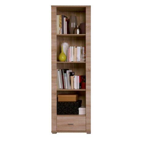 Polcos szekrény, 6 típus, sonoma tölgyfa, GRAND