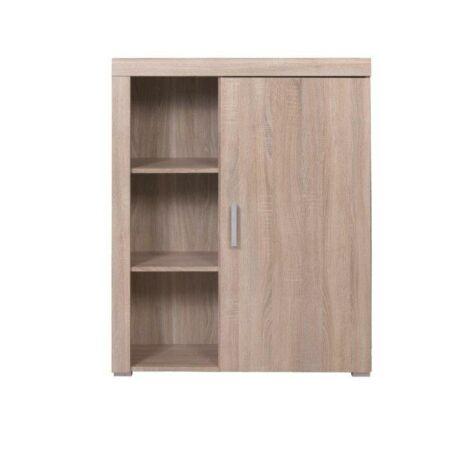 Polcos szekrény 02 típus, sonoma tölgyfa, DAVIS