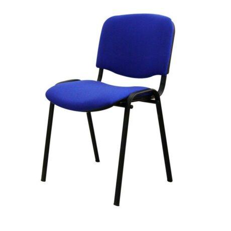 Egymásra rakható szék, kék, ISO NEW