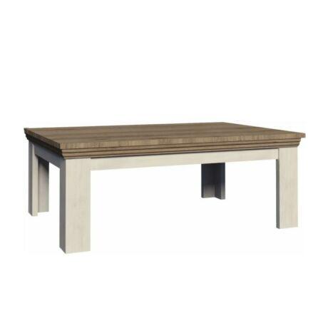 Dohányzóasztal,északi erdei fenyő/tölgyfa, ROYAL LN2