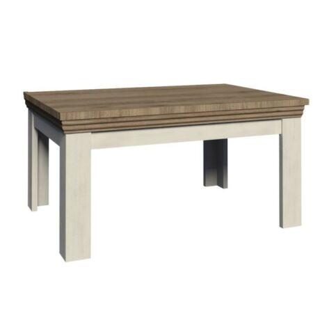 Meghosszabbítható étkezőasztal,északi erdei fenyő/tölgyfa, ROYAL    ST