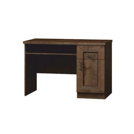PC asztal,lefkas tölgyfa, TEDY T19 TÍPUS