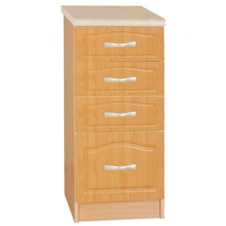 Alsó szekrény, égerfa, LORA MDF S40SZ4
