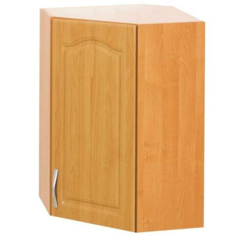 Felső szekrény, jobb oldali kivitel, égerfa, LORA MDF W60/60