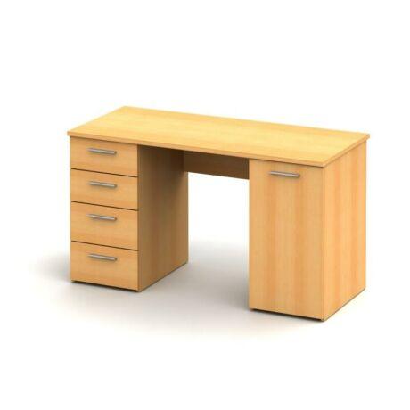 Számítógépasztal, bükkfa, EUSTACH