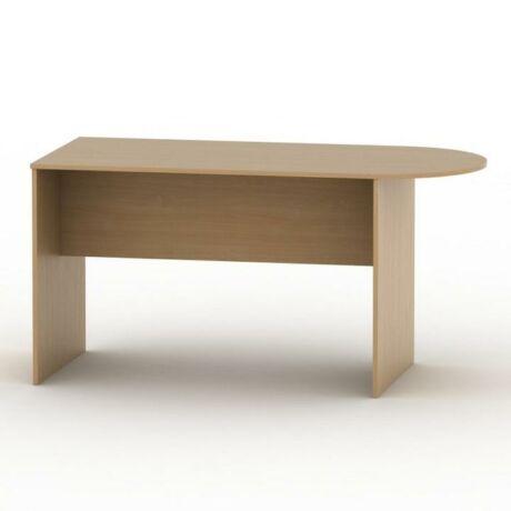 Ívelt asztal tárgyalóterembe, bükkfa, TEMPO ASISTENT NEW 022