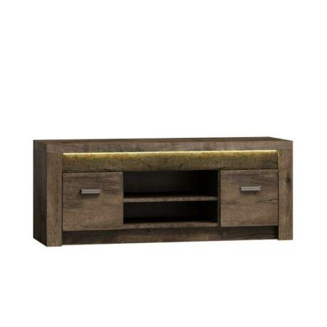 TV asztal /szekrény, sötét kőris, INFINITY 09