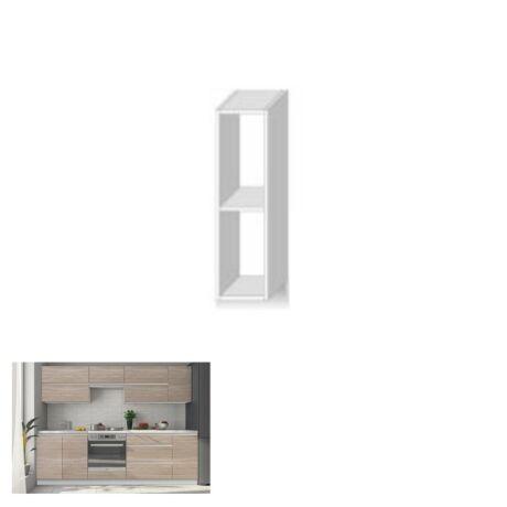 Felső szekrény polccal,sonoma tölgyfa, LINE