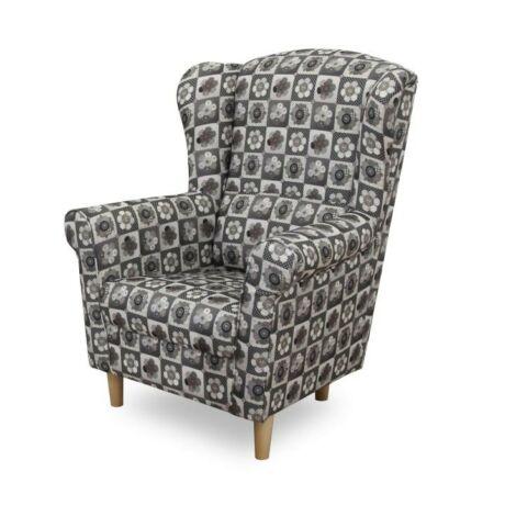 Fotel, patchwork N1, CHARLOT