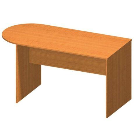 Ívelt asztal tárgyalóterembe, cseresznye, TEMPO ASISTENT NEW 022