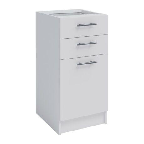 Alsó szekrény, fehér, FABIANA S-40SZ2