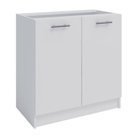 Alsó szekrény, fehér, FABIANA S-80