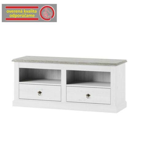 RTV asztal, fehér, LIONA LM60