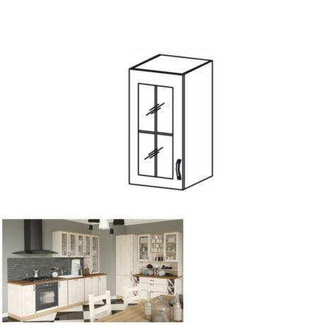 Felső szekrény ajtóval, balos kivitelben, északi fenyő, ROYAL G30    S
