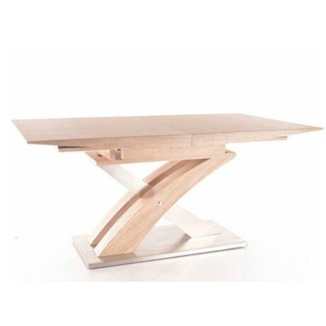 Étkezőasztal meghosszabbítható, sonoma tölgyfa, BONET