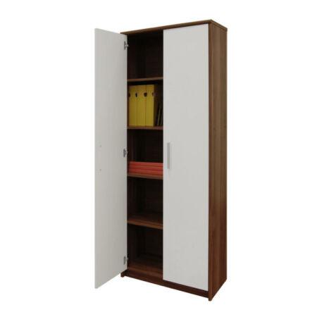 5 fiókos szekrény, szilva/fehér, JOHAN 05