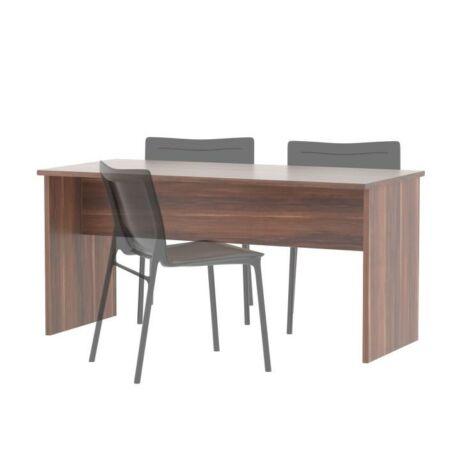 Kétoldalas íróasztal, szilva, JOHAN NEW 08