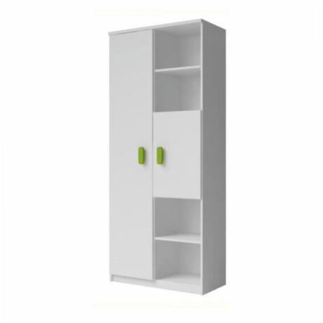 kombinált szekrény , fehér SVEND TYP 10, 80