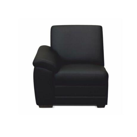 1-es ülés kartámasszal, fekete textilbőr, csak megrendelésre, BITER 1    1B balos