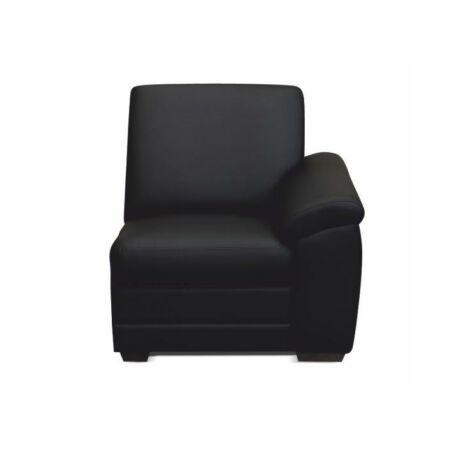 1-es ülés kartámasszal, fekete textilbőr, csak megrendelésre, BITER 1    1B jobbos
