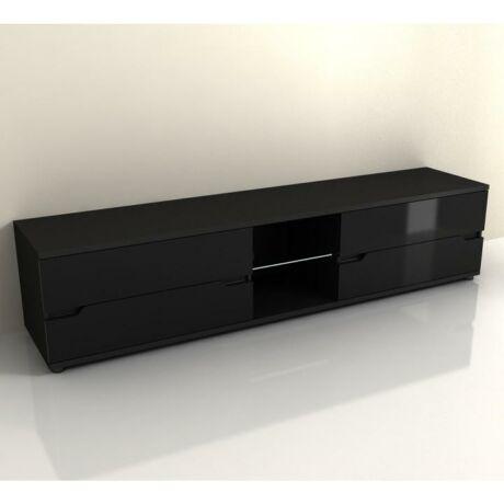 tv asztal,fekete magasfényű,adonis as 30