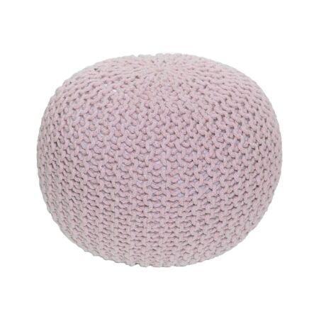 GOBI TYP 2 puff, pasztel rózsaszín