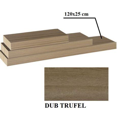 Polcok, trufla tölgyfa, 120x25, GANA