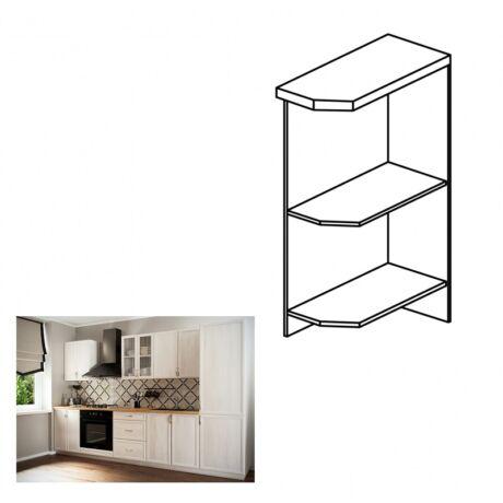 SICILIA D25PZ jobbos alsó nyitott konyha szekrény