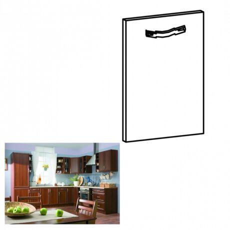 Konyha bútor mosogató ajtó 59,6x71,3 cm, dió Milano, SICILIA