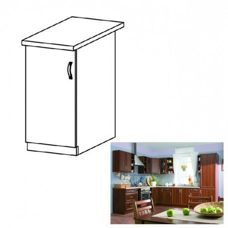 Balos alsó konyha szekrény ajtóval, dió Milano, SICILIA D40