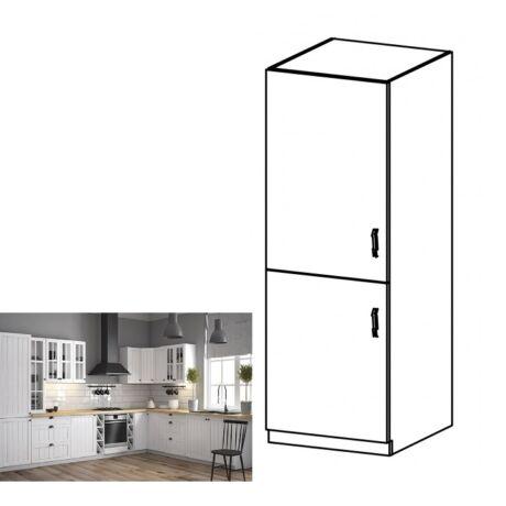 PROVANCE D60ZL balos konyhai alsó szekrény beépített hűtőhöz, fenyő    ANDERSEN/fehér