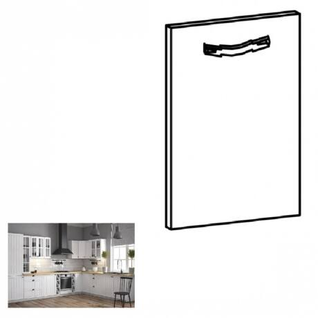 PROVANCE konyhai bútorhoz tartozó mosogató ajtó, 44,6x71,3 cm, fenyő     ANDERSEN