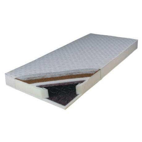 Kétoldalas rúgós matrac, 90x200, KOKOS MEDIUM