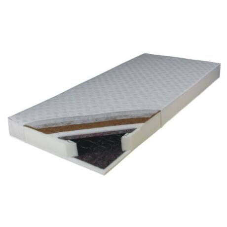 Kétoldalas rúgós matrac, 80x195, KOKOS MEDIUM